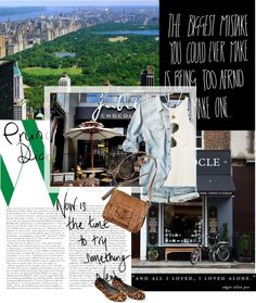 """''Decide that you want it more than you are afraid of it.''"" by fashion-luxe ❤ liked on Polyvore"