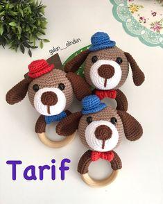 Crochet Animal Amigurumi, Crochet Baby Toys, Crochet Mouse, Amigurumi Patterns, Crochet Dolls, Crochet Gifts, Crochet Disney, Kawaii Crochet, Wooden Baby Toys