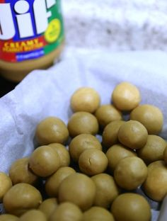 Peanut Butter Balls Suepr Easy Recipe