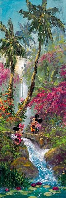 Island Afternoon - The Art of Disney Fine Artist James Coleman