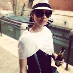 Walking in #Venice with a portable Prosecco bottle! #Travel