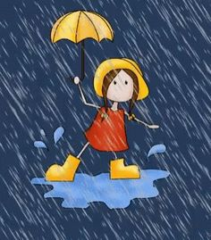 Girl Rain GIF - Girl Rain Animated - Discover & Share GIFs You are in the right place about fondos GIF Here we offer you the most beautiful pictures about the GIF estrellas you are looking for. Emoji Pictures, Gif Pictures, Gif Chuva, Bora Dormir, Rain Animation, Gif Bonito, Rainy Day Quotes, Gif Lindos, Rain Gif