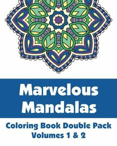 Marvelous Mandalas Coloring Book Double Pack (Volumes 1 & 2) (Art-Filled Fun Coloring Books) by Various,http://www.amazon.com/dp/149278284X/ref=cm_sw_r_pi_dp_stV3sb1M83W2VMGM