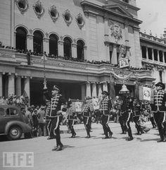 Banda Marcial, celebrando la revolución de 1944