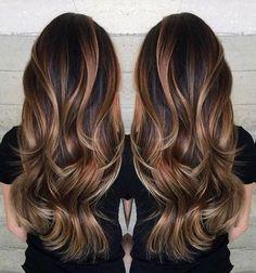 Best ideas about brown hair caramel highlights (168)