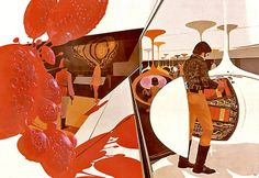 1970 ... learning capsules- Syd Mead via Flickr
