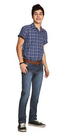 M2A Jeans | Spring Summer 2014 | Teen Boy Lookbook | Pimavera Verão 2014 • calça; jeans; camisa; xadrez.