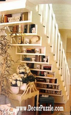 Innovative under stairs ideas and storage solutions, under stairs shelving  The best under stairs ideas by perfect designers with the top under stairs storage solutions, see the innovative ideas