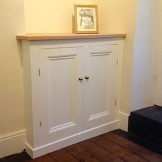 DIY Alcove Cupboard Finished Lower Section