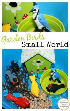 Garden Bird Small World - Learning and Exploring Through Play
