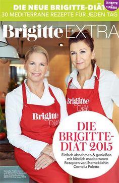 Abnehmen mit BRIGITTE und Cornelia Poletto Freuen Sie sich auf mediterrane Köstlichkeiten, die schlank machen. Es gibt zum Beispiel Gnocchi in Zitronensoße, Ingwer-Hähnchen oder Kabeljau im Salami-Mantel. Die Hamburger Sterneköchin (auf dem Foto oben links) hat diese und 19 weitere Rezepte exklusiv für die BRIGITTE-Diät entwickelt. Und BRIGITTE-Diät-Expertin Anna Ort-Gottwald (oben rechts) hat Rezepte für Frühstück und Abendbrot beigesteuert - damit Sie rund um den Tag gut versorgt sind…
