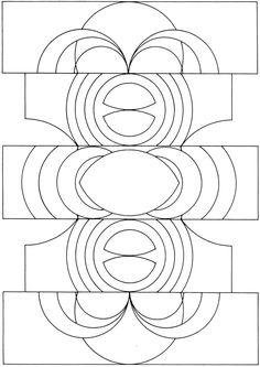 Creative Haven Prismatic Designs Coloring Book