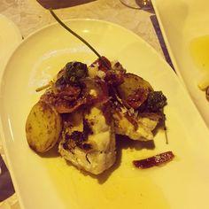 Mero a la plancha con jamón ibérico - Restaurante Degusta by Roberto, Elche