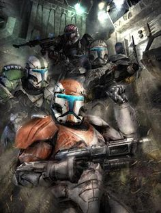 Republic Commando's Delta Squad ;_;  y u no sequeal...