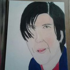 Adam Sandler as Little Nicky on canson board, finished with prisma colored premiere pencils! I'll go so far and tell you these pencils give you the outcome of gouache, oil paints, and pastels. Pickup some if you haven't tried them yet ;) #artaddict #portrait #demonic #draw #cool #sketching #evil #demon #sonofsatan #actor #comedian #adamsandler #littlenicky #canson #pencil #funny #movie #possession #possessed #shovelhead #prismacolor #art #drawing #sketch #artsy #loveforart #crayon…