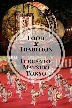 Exploring Japan's food and traditions at the Furusato Matsuri in Tokyo #tokyo #food #traditions