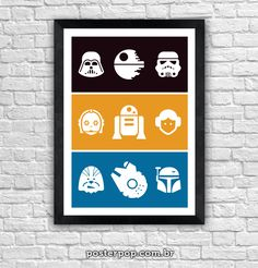 Poster Star Wars Icons