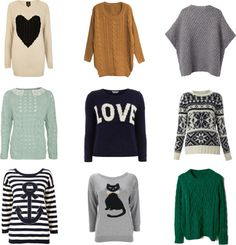 Currently Trending: Chunky Knit Sweaters