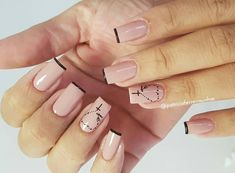 Manicure y pedicure Aycrlic Nails, Manicure And Pedicure, Coffin Nails, Cute Nails, Rosary Nails, Cross Nails, Wedding Manicure, Top Nail, Nail Arts