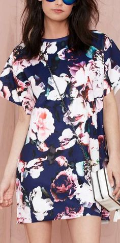 loving these bold florals
