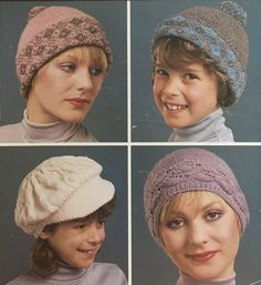 Knitting Needles, Knitting Yarn, Knitting Patterns, Vintage Knitting, Double Knitting, Vintage Patterns, 9 And 10, Caps Hats, Mittens
