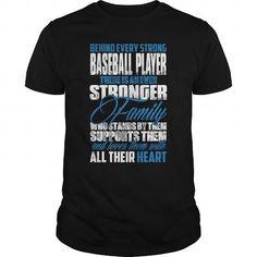 Behind a Baseball Player T Shirts, Hoodies. Get it now ==► https://www.sunfrog.com/LifeStyle/Behind-a-Baseball-Player-0416-Black-Guys.html?57074 $24