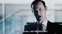 "Mycroft. Sherlock S04 E01 ""The Six Thatchers"". Season 4."