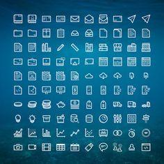 Informe gratuito anual Iconos (100 iconos)