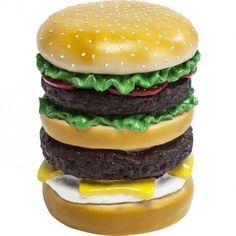 Kare Hamburger Stool