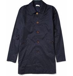 Lightweight Coated-Cotton Rain Coat