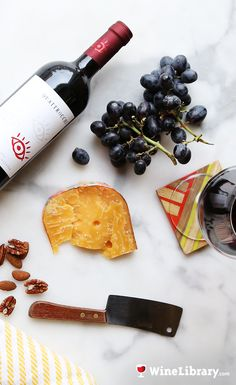 Step up your wine and cheese game with this stunning Malbec and some aged gouda. This is juicy, fruity, easy-to-drink Malbec at its best! #winepairing #wine #cheese #foodie