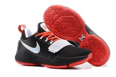 uk availability 79b9d 00109 Find Nike PG 1 Black White Red Men s Basketball Shoes New Release online or  in Pumafenty. Shop Top Brands and the latest styles Nike PG 1 Black White  Red ...