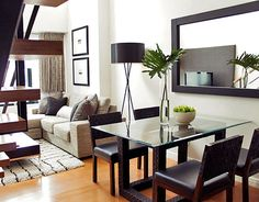 like the dining area for small space