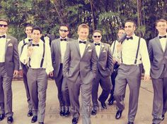 Andrea Polito Photography #Grey #Groomsmen #Wedding