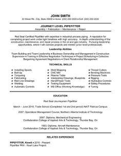 Sample Resume For Welding Position Welder Resume Free