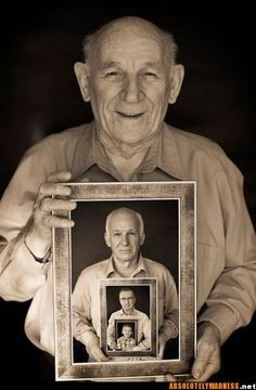 Great idea......especially for multi-generational pics when you are not together.
