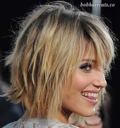 20 Short Shaggy Bob Hairstyles - 17