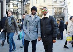 Peter Okoye Spotted With Samuel Eto On The Street Of London (Photo) - http://www.77evenbusiness.com/peter-okoye-spotted-with-samuel-eto-on-the-street-of-london-photo/
