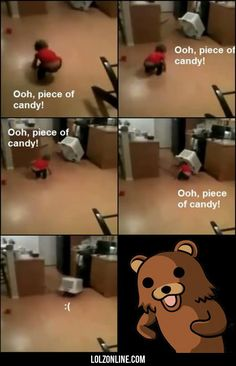 Pedobear Is Back