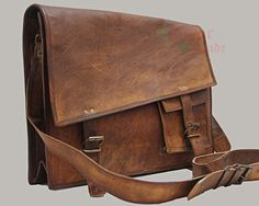 Indiana Jones! 15 inchesLeather Messenger bag Handbags Cross Body Laptop Retro Satchel Ipad Pouch Case For him or her