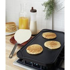Reversible griddle // Crate and Barrel