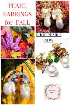 Cluster Earrings, Women's Earrings, Custom Jewelry, Earrings Handmade, Gemstone Jewelry, Special Occasion, Gemstones, Table Decorations, Pearls