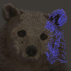 How to Create a Scratchboard Effect Bear Portrait - Tuts+ Design & Illustration Tutorial