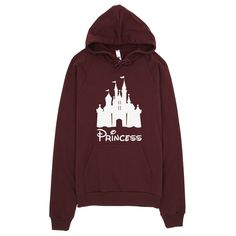 It's not easy being a princess, but hey, if the shoe fits All of our sweatshirts are made out of California fleece which, opposed to typical synthetic fleece, is made of 100% extra soft ring-spun comb
