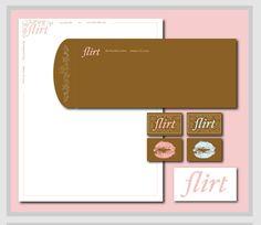"""""""Flirt"""" stationery"""