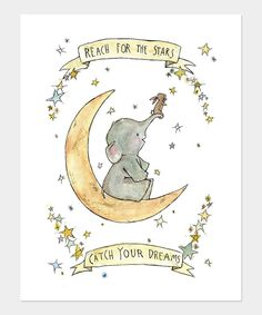 Take a look at this 'Catch Your Dreams' Print on zulily today!