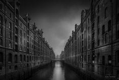 Hamburg in schwarz-weiß Von Marc