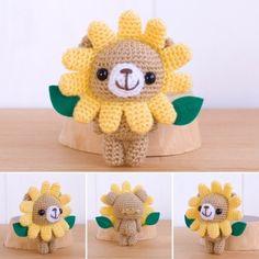 Kawaii Crochet, Love Crochet, Diy Crochet, Crochet Crafts, Crochet Toys, Crochet Projects, Diy Crafts, Arts And Crafts, Crochet Animal Amigurumi