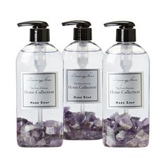 I pinned this Amethyst Hand Soap (Set of 3) from the Resolution: Stress Less event at Joss and Main!