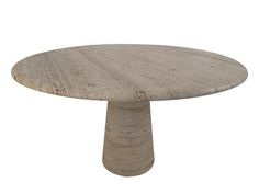 Lucca Antiques - Tables: Mangiarotti 1970's Travertine Table